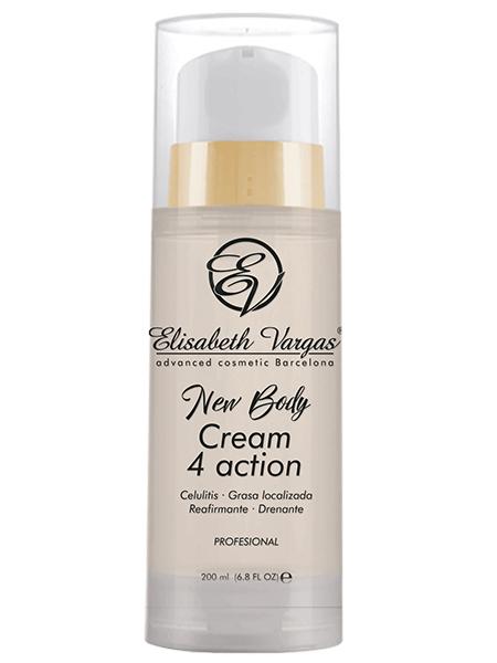 Cream 4 action anticelulítica de Elisabeth Vargas