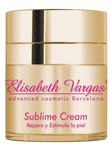 Sublime Cream antienvejecimiento y redensificante de Elisabeth Vargas