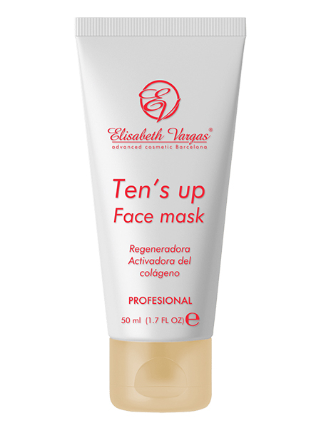 Mascarilla Ten's Up Face Mask de Elisabeth Vargas