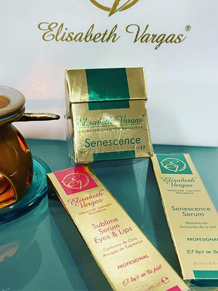 Pack de cremas regeneradoras Elisabeth Vargas
